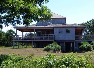 1423 - Enjoy Wonderful Waterviews from this Chappaquiddick Home - Image 1 - Chappaquiddick - rentals