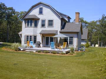 1442 - WALK TO BEACH FROM THIS TRANQUIL SETTING. HAS AC - Image 1 - Vineyard Haven - rentals