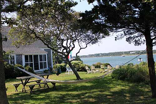 790 - CLASSIC WATERFRONT VINEYARD HOME ON 40 ACRES - Image 1 - Chappaquiddick - rentals