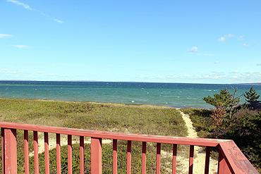 """792 - Casual """"Beach """" House with Glorious Views of Vineyard Sound - Image 1 - Aquinnah - rentals"""