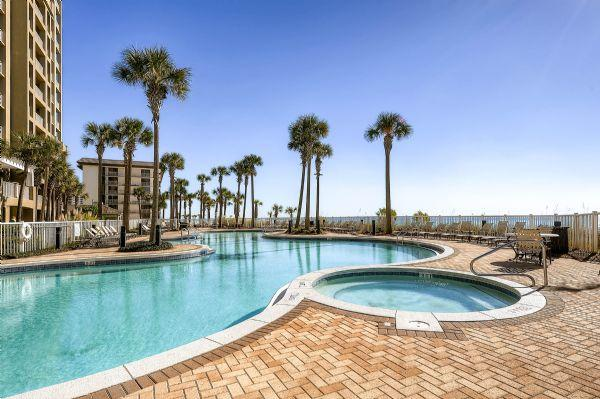 Beautiful Pools with Gulf Views - Grand Panama 2-1403 - Panama City Beach - rentals