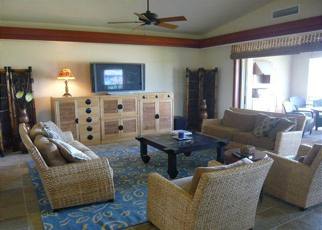 Tropical flair through out this beautiful home. - #MLV307 - Mauna Lani Villages 307 - Mauna Lani - rentals