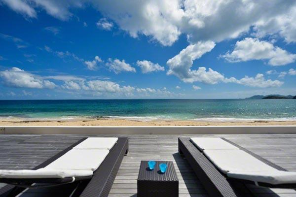 This serene, beachfront villa is fully air- conditioned and elegantly decorated. C CAV - Image 1 - Baie Rouge - rentals