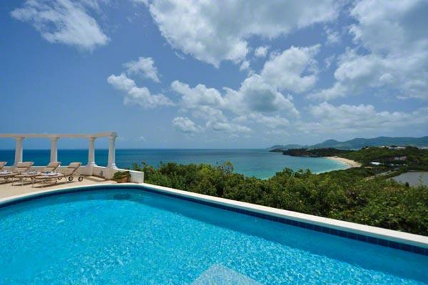 Brand new villa with spectacular ocean views and custom kitchen. C HOW - Image 1 - Baie Rouge - rentals