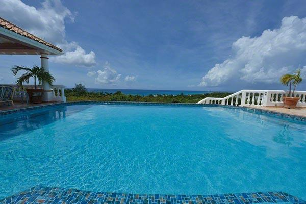 This villa overlook the Baie Longue beach- gorgeous sunset and ocean views! C LAB - Image 1 - Baie Longue - rentals