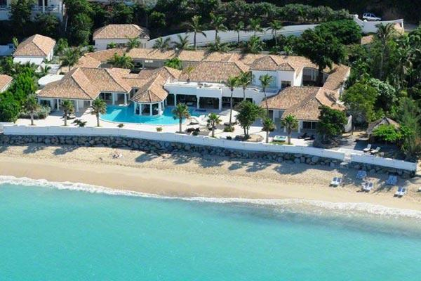 Spacious, contemporary villa on a quiet, white sandy beach. C ROC - Image 1 - Grand Case - rentals