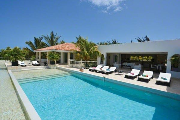 Superb Caribbean Sea and Baie Longue views, 2 minute drive to the beach. C SUD - Image 1 - Terres Basses - rentals