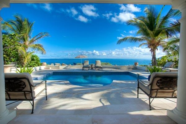 Prime St. Martin honeymoon villa on Baie Rouge Beach. C WOO - Image 1 - Baie Rouge - rentals