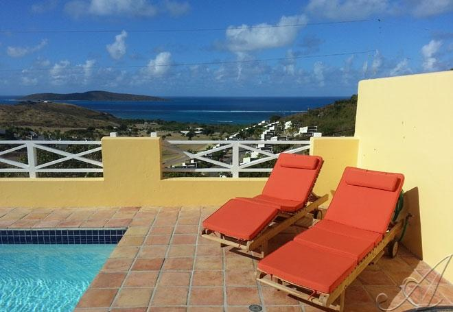 A View for Two- perfect for a couple!  - A View for Two at Villa Madeleine (Two Perfect) - Teague Bay - rentals