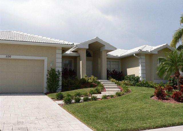 Front of Home - 1130 Lighthouse Court - Marco Island - rentals