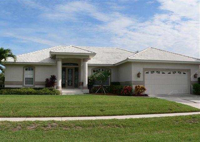 Front of Home - 1641 Barbarosa Court - Marco Island - rentals