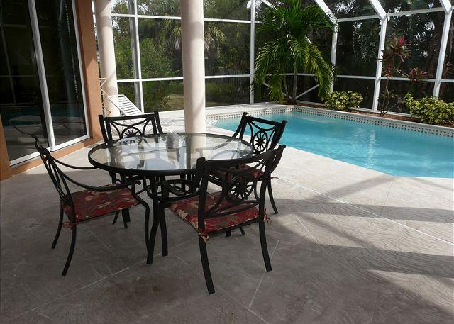 Patio and Pool - 917 Loyalty Avenue - Marco Island - rentals