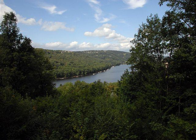 View from deck - Tranquility - McHenry - rentals