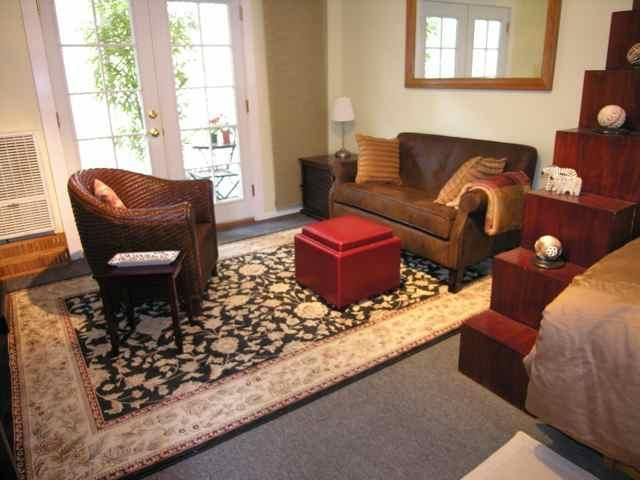 Studio / Living Room - Elegantly Rustic Studio below Hollywood Sign - Hollywood - rentals
