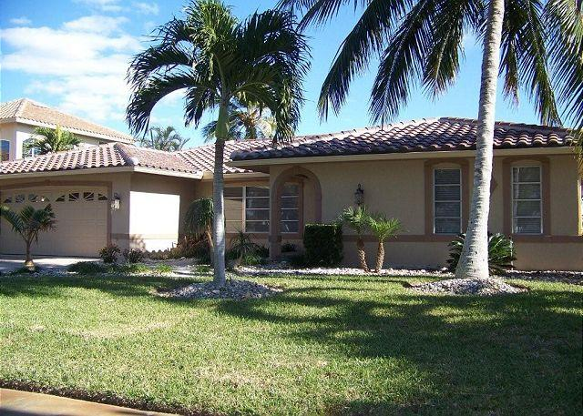 Front of Home - 1691 Barbados Court - Marco Island - rentals