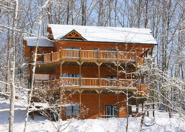 Fantastic Views of the Mountains from this Luxury 4 Bedroom Cabin - Image 1 - Gatlinburg - rentals