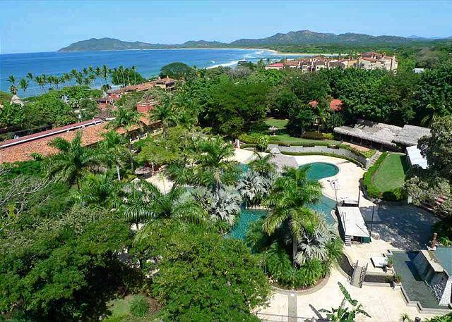 Pool and deck - Romantic, luxurious, 2 BR apt. with stunning views - Tamarindo - rentals