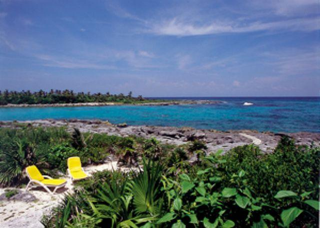 LAS VIGAS  get the best of two worlds Lagoon and ocean views!!! - Image 1 - Akumal - rentals