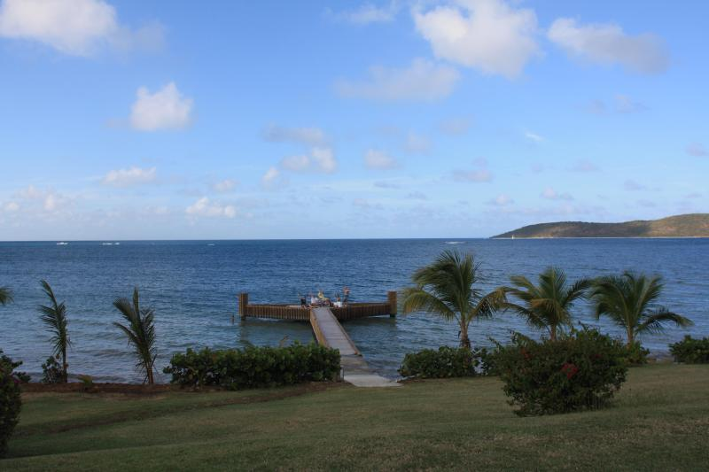 Private Dock at Sunset - Beachfront house dock pool privacy luxury - Christiansted - rentals