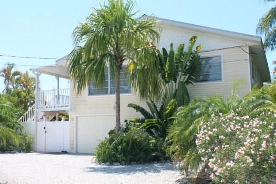 Mermaids Lagoon is situated in a quiet residential neighborhood - Fantastic Newly Renovated Canal Home with Tropical Gardens Surrounding the Pool -  Mermaids Lagoon - Fort Myers Beach - rentals