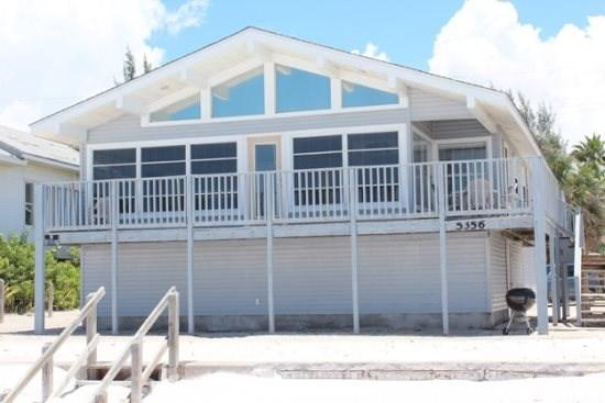 Delightful Open Concept Beachfront Getaway with wall to wall views! -  Seabreeze Cottage - Image 1 - Fort Myers Beach - rentals