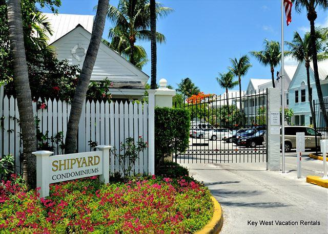 Gated Community Entrance - Shipyard Perch - Weekly or Monthly - Key West - rentals