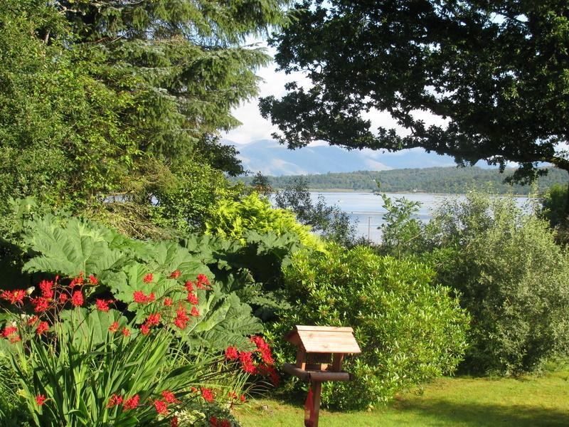 Front Garden of Seafield Holiday Cottage - Seafield Holiday Cottage - Oban - rentals