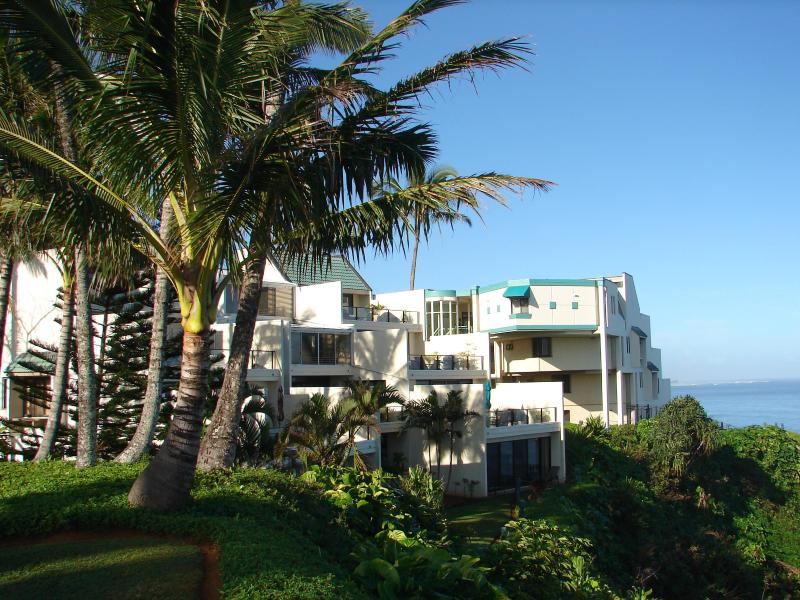 Top level, ocean front! - World Class, Superior Top Level #402 with A/C, VT. - Princeville - rentals