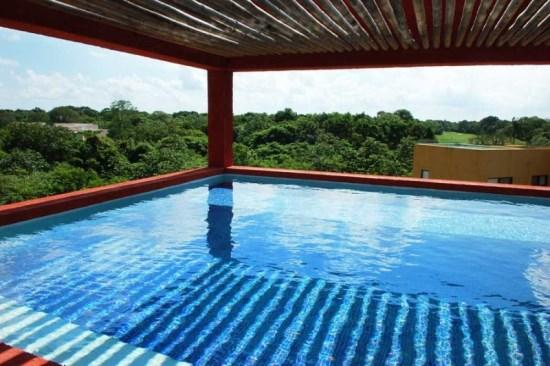 Penthouse Sian Kaan - Private rooftop with plunge pool - Playacar, Playa del Carmen vacation rentals - Sian Kaan PH - Playa del Carmen - rentals