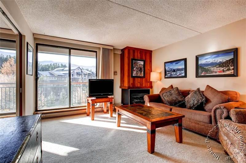 Charming 1 Bedroom/1 Bathroom Condo in Breckenridge (Trails End Condos 405 - 1 Bdrm (TE405)) - Image 1 - Breckenridge - rentals