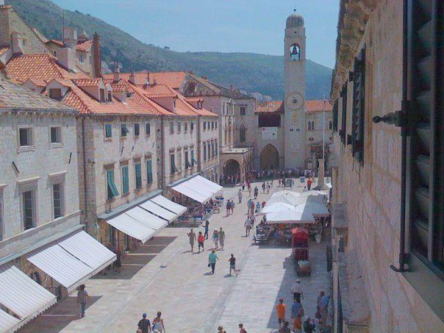 View from window - Apartment Ivo - Old Town - Dubrovnik - rentals