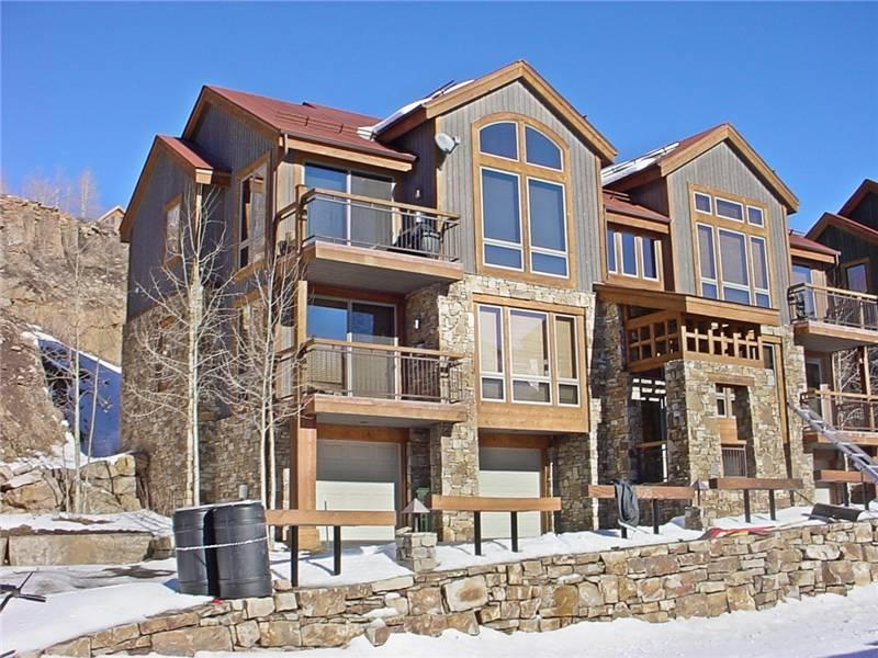 Outside view of unit - TERRACES 101 - Telluride - rentals
