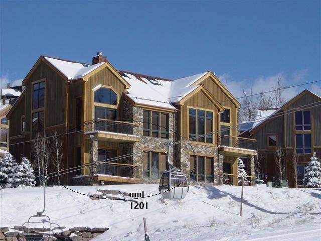 Outside view of the unit - TERRACES 1201 - Telluride - rentals
