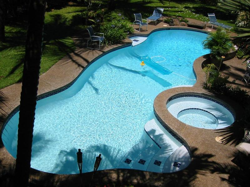 Inviting Pool & Spa, Solar Heated - Luxury Tropical Home with Pool/Spa, 2-10 people - Haiku - rentals