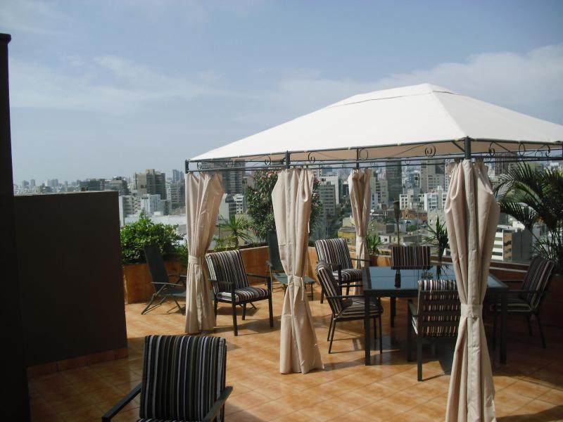 Private Oceanview Terrace - Miraflores Oceanview Penthouse - Miraflores - rentals