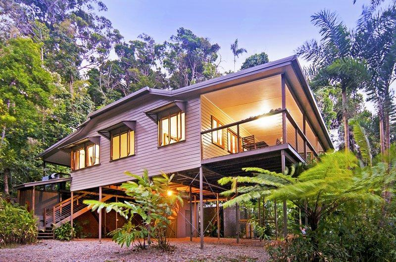 Exterior at dusk - DAINTREE MAGIC - Daintree Accommodation - Daintree - rentals