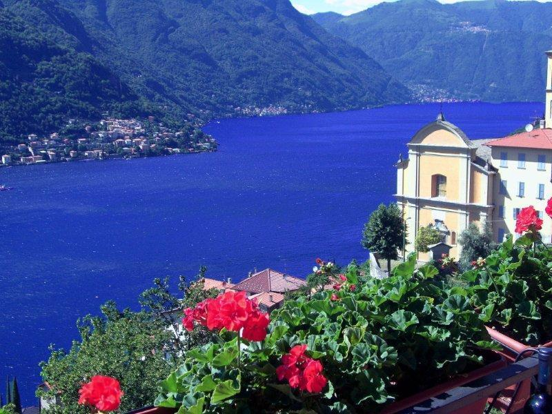 Stunning Lake Como Views from Villa Gabriella - ROMANTIC VILLA GABRIELLA - STUNNING 180° VIEWS - Pognana Lario - rentals