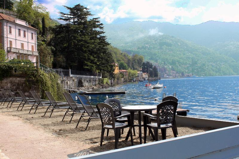Our Private Sand Lido and Boat Dock for Swimming in the Lake or for just relaxing in the sun. - On the shores of Lake Como - Villa Tranquillita - Como - rentals