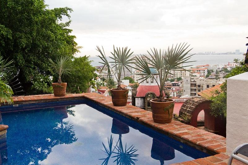 Pool - Luxury Villa,  Staff, Heated Pool, Close to Town, 5 Star Rated - Puerto Vallarta - rentals