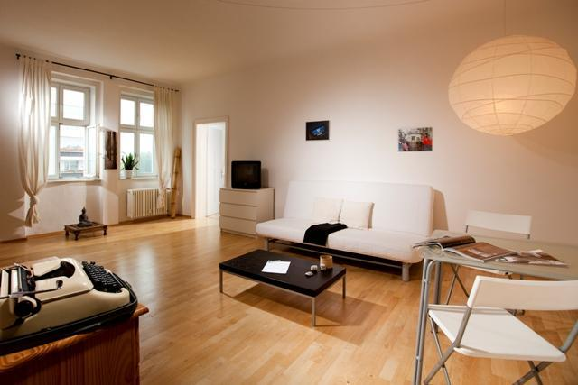 living room - #46Amazing Big+Quiet+Luxury Apartment@Berlin Mitte - Berlin - rentals