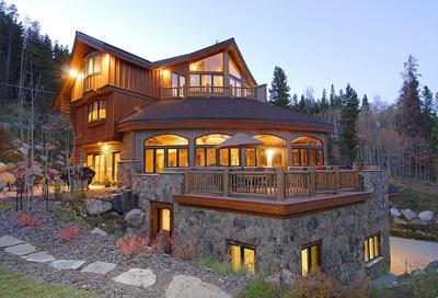 Alpine Majesty - Exterior of luxury vacation home. - Alpine Majesty - Breckenridge - rentals