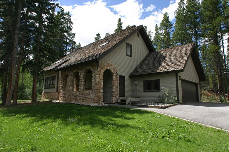 Front exterior of home - Bystone Villa Retreat - Breckenridge - rentals