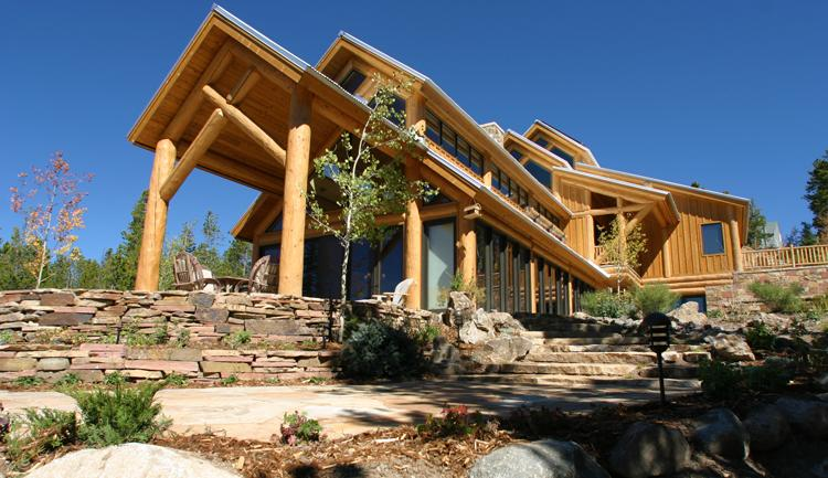 Exterior view of the front of the house - Rubywood - Breckenridge - rentals