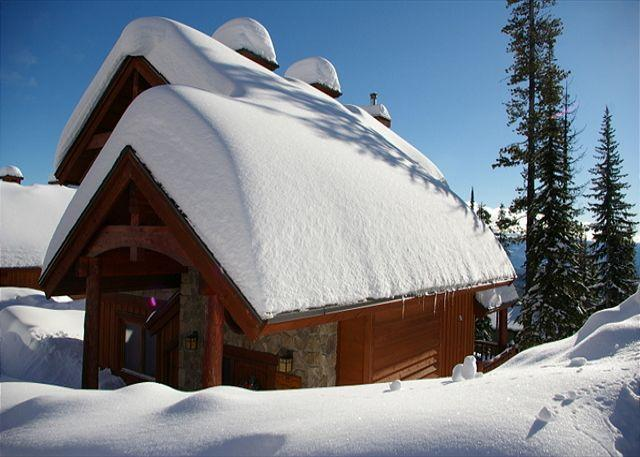 """EXTERNAL VIEW - Evergreen """"The Forest"""" Location in Big White Sleeps 10 - Big White - rentals"""