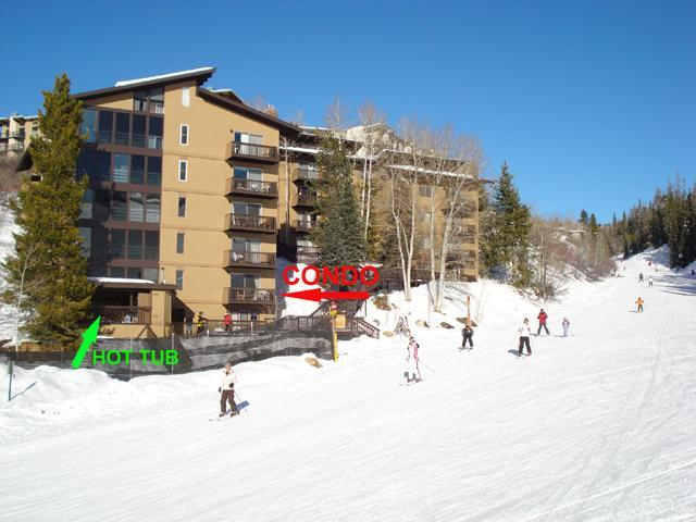 Storm Meadows East Slopeside:  Ski-in, Ski-out. - Image 1 - Steamboat Springs - rentals