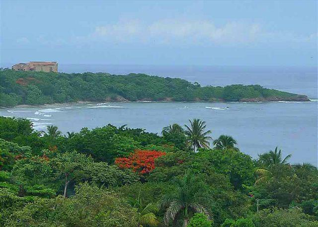 View from back of complex - Gorgeous two story 4 bedroom condo with an incredible ocean view - Tamarindo - rentals