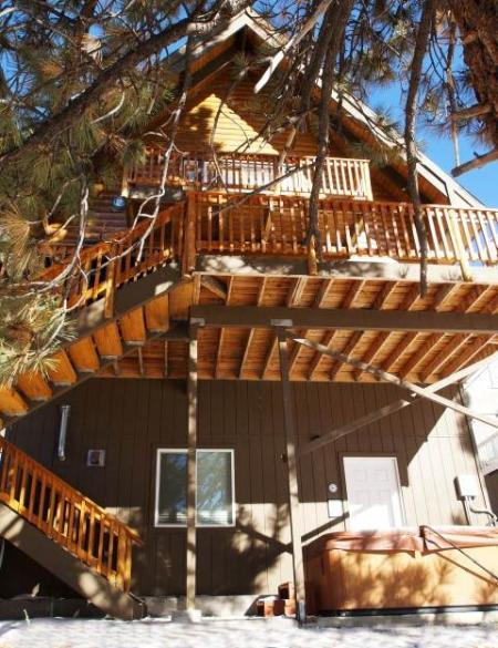 """Cabin Big Bear"" by the Lake - Image 1 - Big Bear Lake - rentals"
