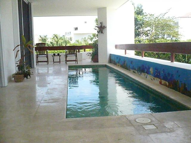 Casa Laurie (6150) - Wrap-Around Terrace With Pool, Steps To Beach - Image 1 - Cozumel - rentals