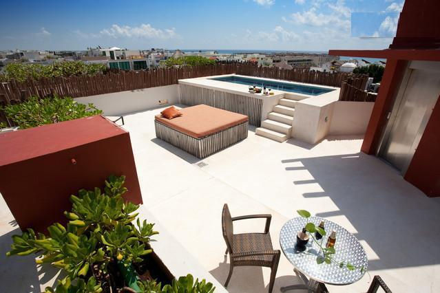 Common Pool Area - 1bdr 20% off Nolita Playa till March 30th. 2012 - Playa del Carmen - rentals