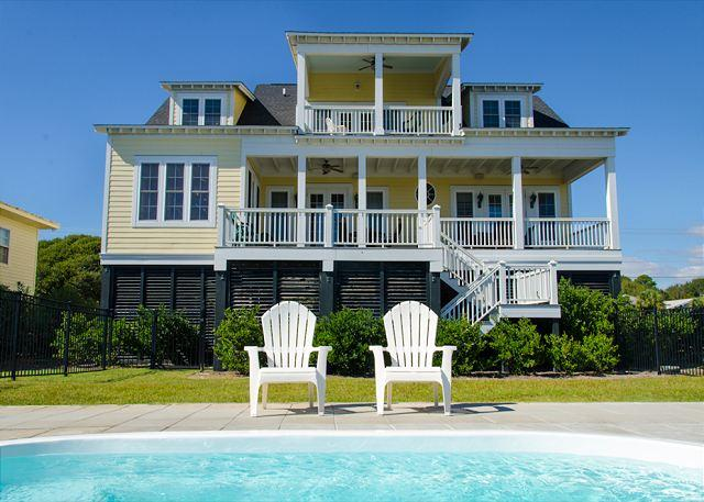 Island Fever -  Beach Front Luxury With a Private Pool - Image 1 - Edisto Beach - rentals